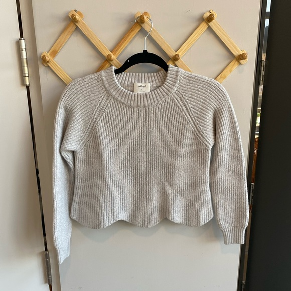 Wilfred Sardou Sweater - Aritzia - Cropped knit